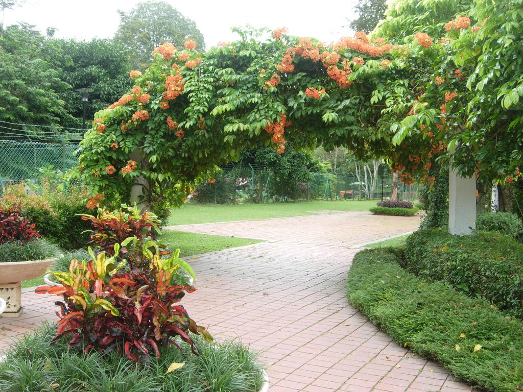 botanical garden penang, malaysia - location map